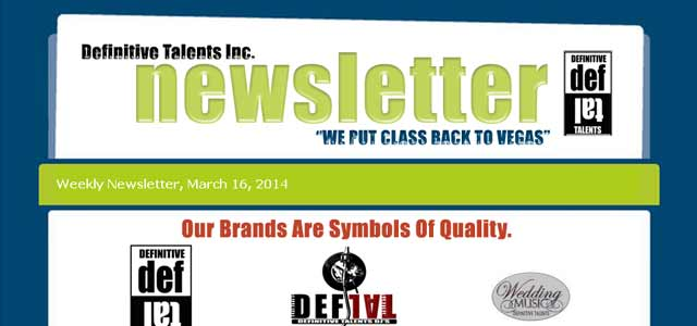Newsletter – March 2014
